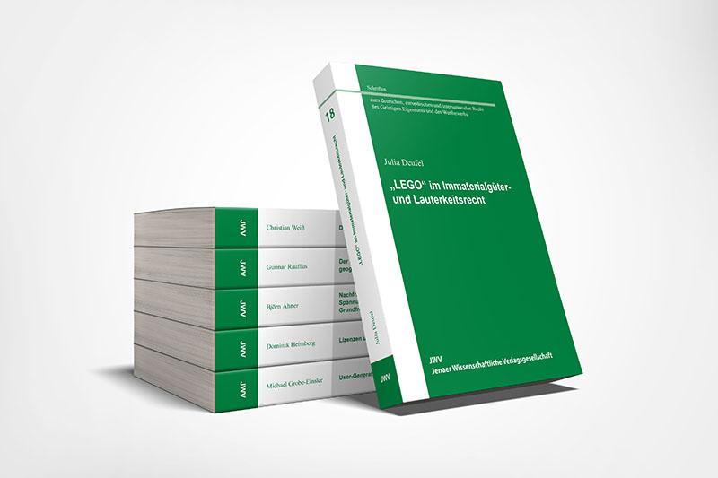 Schriften zum deutschen, europäischen und internationalen Recht des Geistigen Eigentums und des Wettbewerbs